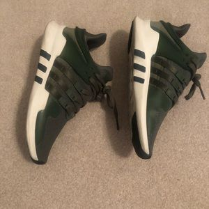 Adidas Army Green Shoes